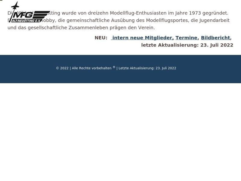 Screenshot von http://www.mfg-alt-neuoetting.de/